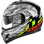 White Alliance GT Birdstrike Helmet - 0101-11251