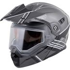 Black/Silver EXO-AT950 Snow Helmet - 75-1510L