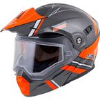 Orange/Gray EXO-AT950 Snow Helmet - 75-1512L
