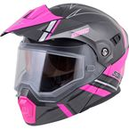 Pink/Gray EXO-AT950 Snow Helmet - 75-1514L