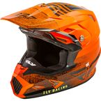 Orange/Black Toxin MIPS Embargo Cold Weather Helmet - 73-4950L