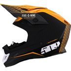 Off Grid Orange Altitude Carbon Fiber Helmet w/Fidlock Technology - F01000500-140-401