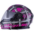 Black/Pink/White MD01 Pink Ribbon Riders Modular Helmet - G1012406
