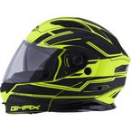 Matte Black/Hi-Vis Yellow MD01 Stealth Modular Helmet - G1011686