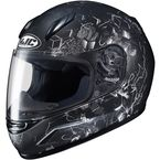Youth Semi-Flat Black/Gray CL-Y Velva MC-5SF Helmet - 240-754