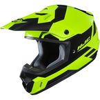 Hi-Vis Green/Black CS-MX 2 Pictor MC-4H Helmet - 329-943