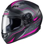 Semi-Flat Black/Gray/Pink CS-R3 Trion MC-8SF Helmet - 142-784