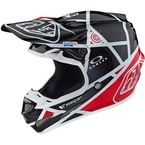 Black/Red Metric SE4 Carbon Helmet - 102109204