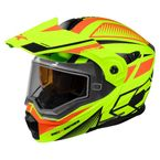 Matte Hi-Vis/Orange EXO-CX950 Blitz Snow Helmet - 45-19436