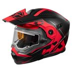 Matte Black/Red EXO-CX950 Focus Snow Helmet w/Electric Shield - 45-29318