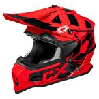 Youth Red Mode MX Helmet - 35-2816