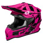 Youth Pink Mode MX Helmet - 35-2888