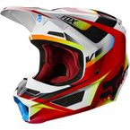 Red/White V1 Motif Helmet - 21775-054-XL