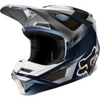 Youth Blue/Gray V1 Motif Helmet - 21784-024-L