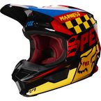Black/Yellow V1 Czar Helmet - 21778-019-L