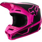 Youth Black/Pink V1 Przm Helmet - 20084-285-S