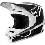 Youth Black/White V1 Przm Helmet - 20084-018-L