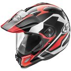 Red/Black/White XD4 Catch Helmet - 807823