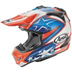 Blue/Red/White VX-Pro 4 Nicky-7 Helmet - 807833