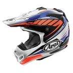 Blue/White/Red VX-Pro 4 Spike Helmet - 820283