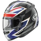 Black/Blue/Red DT-X UK Flag Helmet - 820553