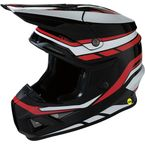Black/White/Red F.I Helmet - 0110-5720