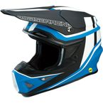 Black/Blue F.I. Session Helmet - 0110-5741