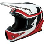 Red/White F.I. Session Helmet - 0110-5748
