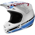 White/Red/Blue V1 RWT Special Edition Helmet - 20859-574-M