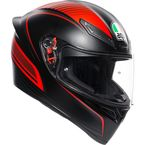 Black/Red K1 Warmup Helmet - 0281O2I000209