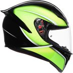 Black/Lime K1 Qualify Helmet  - 0281O2I000409