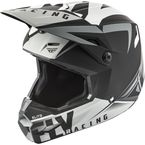 Matte Black/Grey Elite Vigilant Helmet - 73-86112X