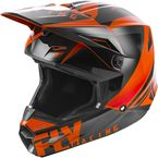 Youth Orange/Black Elite Vigilant Helmet - 73-8618YL
