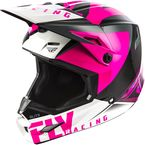 Youth Pink/Black Elite Vigilant Helmet - 73-8619YL