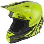 Hi-Vis Yellow/Black F2 Carbon MIPS Shield Helmet - 73-4246L
