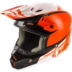 Orange/Black Kinetic Sharp Helmet - 73-3408L