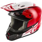 Red/Black Kinetic Sharp Helmet - 73-3402L