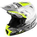 Youth White/Black Toxin MIPS Embargo Helmet - 73-8530YL