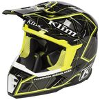 Black/Hi-Vis Green F5 Demolish Helmet - 3910-000-140-007