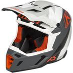 Black/Gray/White F5 Camo Helmet - 3910-000-140-009