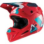 Youth Red/Teal GPX 5.5 Composite V19.2 Helmet - 1019200461