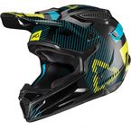 Youth Black/Lime GPX 4.5 V19.2 Helmet - 1019201471