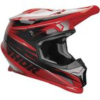 Red/Black Sector Warp Helmet - 0110-6059