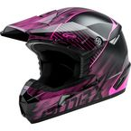 Youth Black/Hi-Vis Pink MX46 Colfax Helmet - G3463221