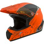Youth Matte Orange/Black MX46 Colfax Helmet - G3463132