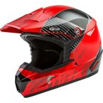 Youth Red/Black MX46 Colfax Helmet - G3463032