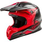 Black/Red MX86 Revoke Helmet - G3866036