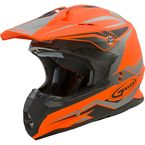 Matte Orange/Black MX86 Revoke Helmet - G3866256