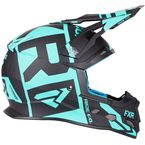Black/Mint Boost Clutch Helmet - 190606-1052-13