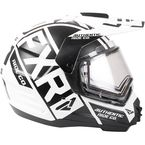 White/Black Torque X EVO Helmet w/Electric Shield - 190610-0110-13